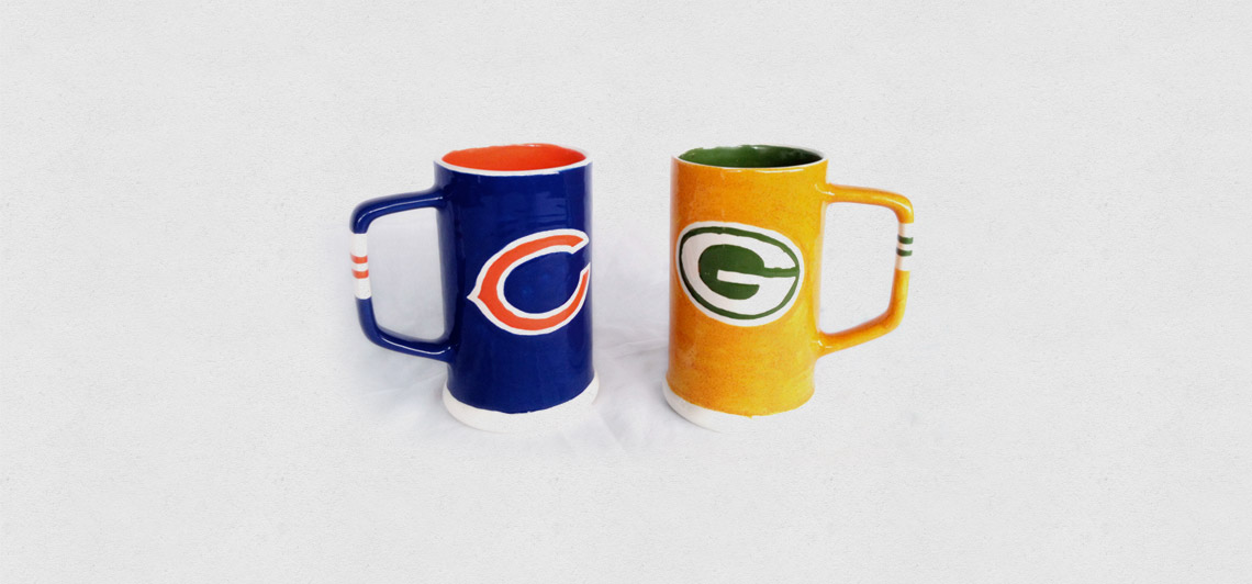 Packers and Bears