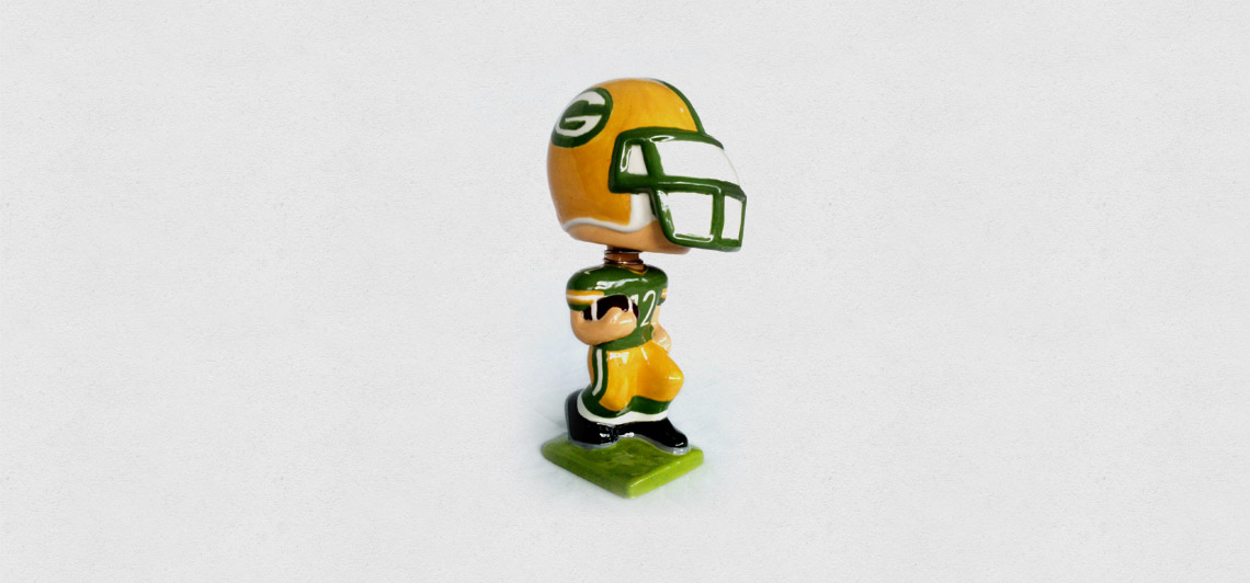 Packers Bobblehead